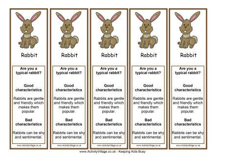 new year rabbit personality year of the rabbit bookmark