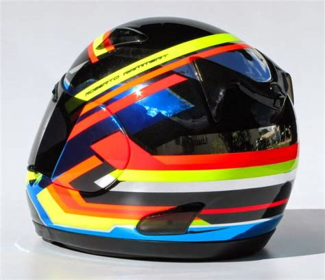 dom design helmet arai quantum r rammert 2014 by tato designs helmets
