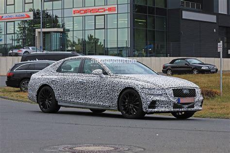 Hyundai Genesis G80 2020 by 2020 Genesis G80 Drops More Camo At The Ring Looks Better