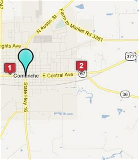 map of comanche texas comanche texas hotels motels see all discounts