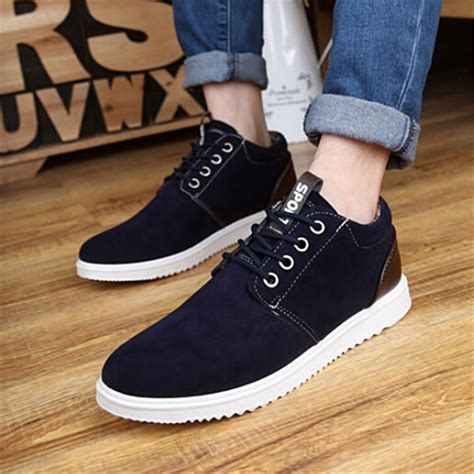 Stevi Zapato Size 39 44 shoes new mens casual breathable nubuck leather shoes