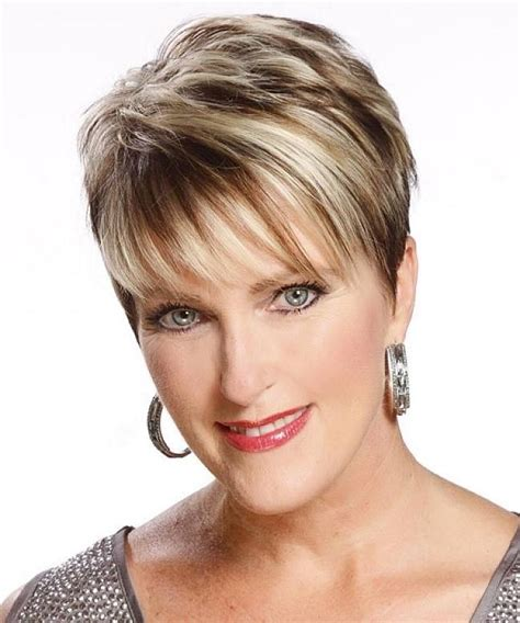 hairstyle for fat over 40 fine hair photo gallery of short hairstyles for fine hair over 40