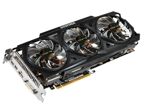 Vga P104 gigabyte unveils radeon r9 280 windforce oc graphics card