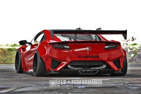 Acura Nsx Wide Kit by Liberty Walk Acura Nsx The Widebody Kit Newfoxy