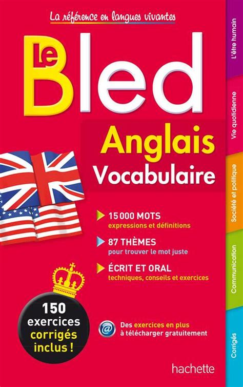bled vocabulaire bled reference 2010003977 livre bled vocabulaire anglais annie sussel isabelle perrin bernard cros hachette 201 ducation