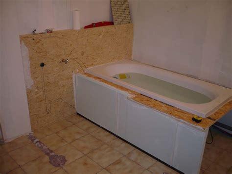 faire tablier baignoire aide contour tablier baignoire