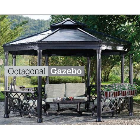 Amazon Com Hardtop Gazebo Patio Lawn Garden