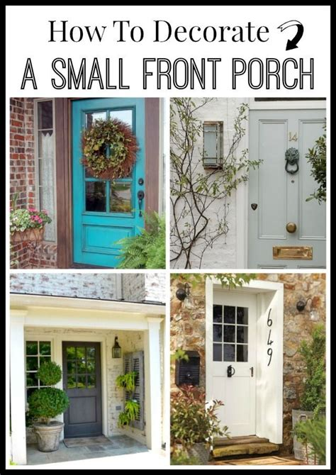 decorate  small front porch small front porches