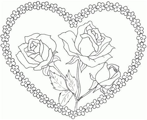 Imagenes Para Pintar Lindas | dibujos de flores hermosas para descargar imprimir y