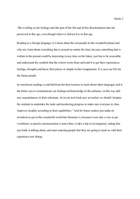 Essay About Reading Experience by Essay How Important Is Reading For Our Students