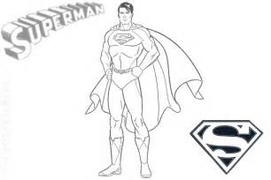 superman coloring pages for kids bebo pandco
