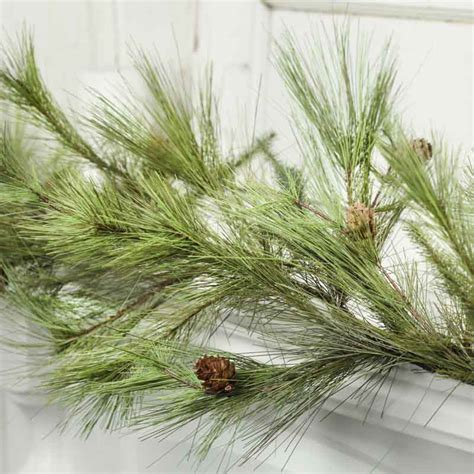 artificial pine garland christmas and winter sale sales