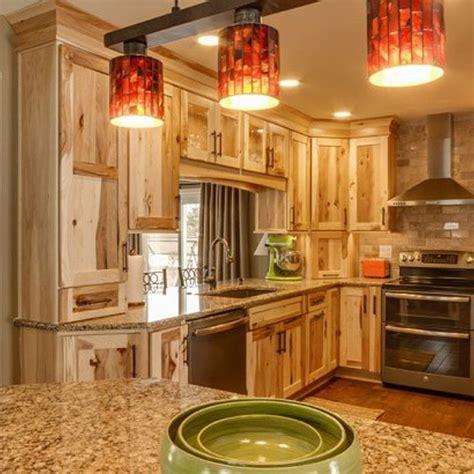 amazing hickory kitchen cabinets   beautiful