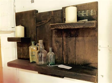 pallet wood bathroom antique pallet shelf toiletries organizer 101 pallets