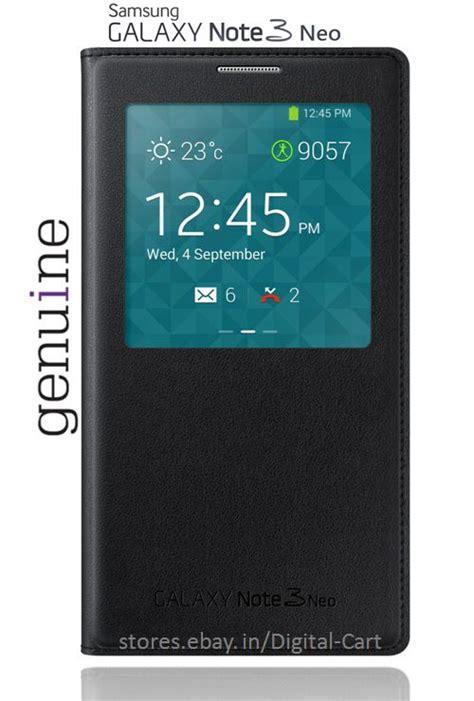 Samsung Galaxy Note 3 Neo Kinkoo Flip View Casing Cover samsung galaxy note 3 neo n7505 s view flip cover black