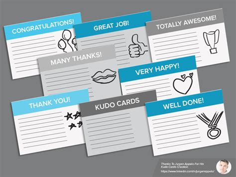 kudo cards templates find out how to use kudo cards in agile retrospectives