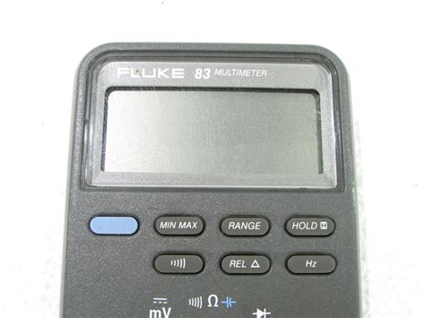 Multimeter Fluke 83 fluke 83 multimeter premier equipment solutions inc