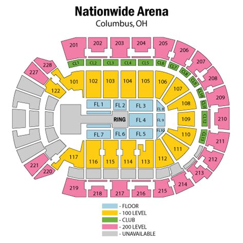 nationwide arena seating world entertainment march 13 tickets
