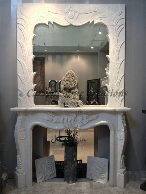 fireplace overmantel designs carved stone creations