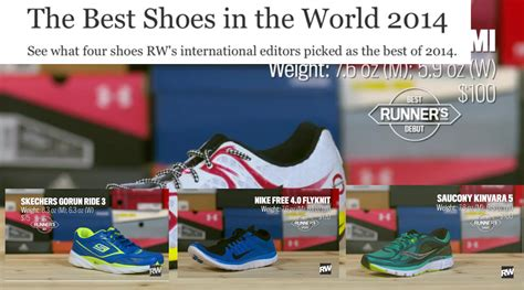 Best Shoe Blogs by Runner S World Top Shoes Of 2014 Minimalist Dr Nick S
