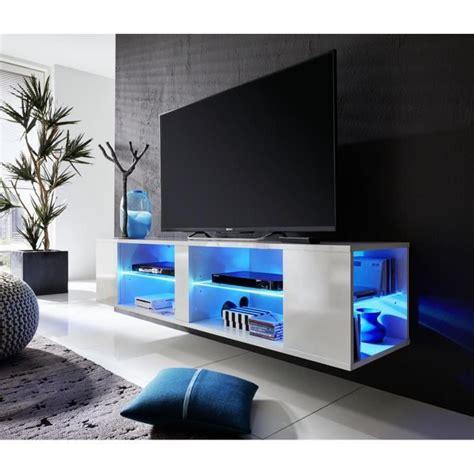 meuble tv design led pas cher