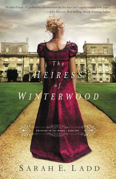 libro winterwood the heiress of winterwood whispers on the moors series 1 by sarah e ladd paperback barnes