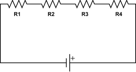 resistors in series sum resistors in series electronics tutorials
