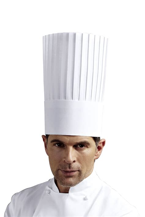 chefs hat king white