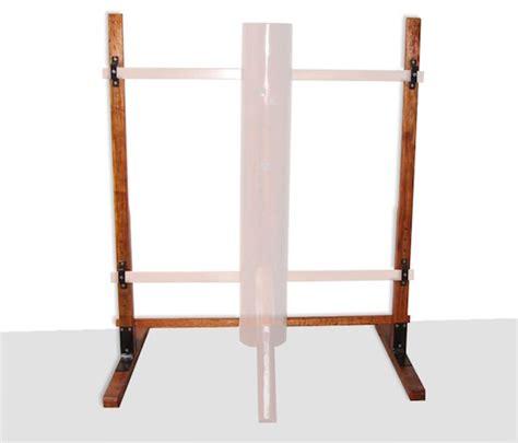 buick yip wooden dummy floor stand mook yan jong stand