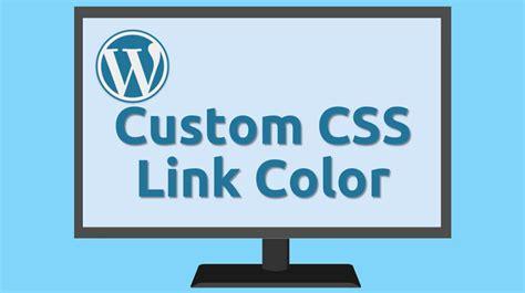 css change link color css change link colors site wide marion black
