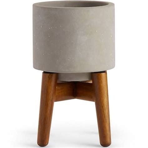 plant stand wooden legs indoor plant pots planters