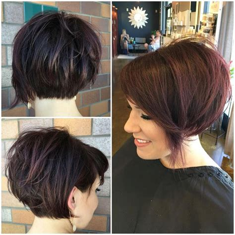 chop hairstyle for longer version 25 best ideas about pixie bob haircut on pinterest