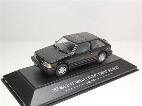 Sapi Model Mazda Familia 1000 images about diecast car 1 43 on models