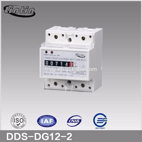 three phase induction type energy meter dds8888 single phase electic induction type din rail register counter watt hour meter energy