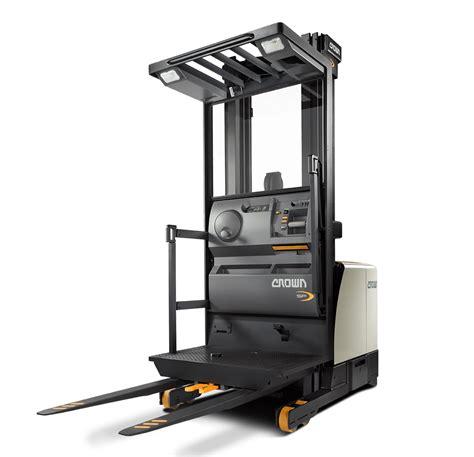 order picker forklifts sp series crown equipment