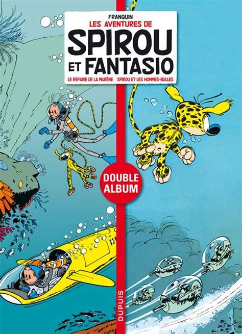Komik 4 Petualangan Spirou Fantasio spirou et fantasio diptyques 4 le repaire de la mur 232 ne spirou et les hommes bulles