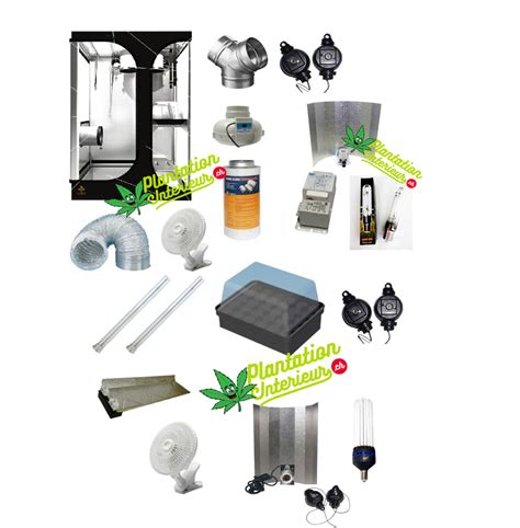 fabrication chambre de culture placard cannabis kit complet culture indoor cannabis