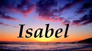 isabel significado y origen del nombre youtube