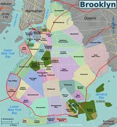 map map of new york city