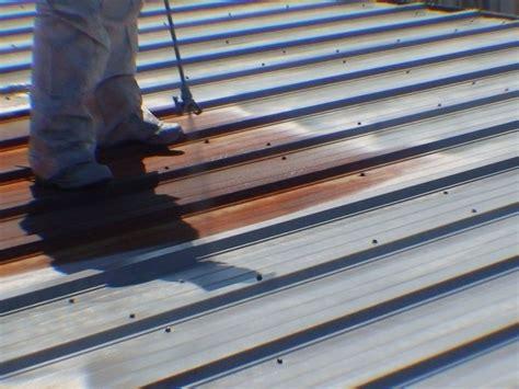 Metal Roof Repair Galvanized Metal Roof Rust Repair P B Trucking Rust Bullet