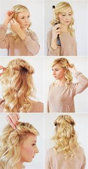 hairstyles tutorial 17 easy diy tutorials for glamorous and cute hairstyleall