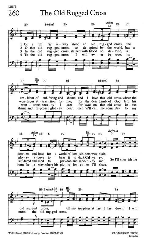 worship and rejoice 260 on a hill far away stood an