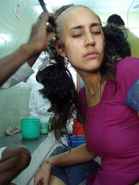 new indian women headshave head shave at temples stories indian house wife head