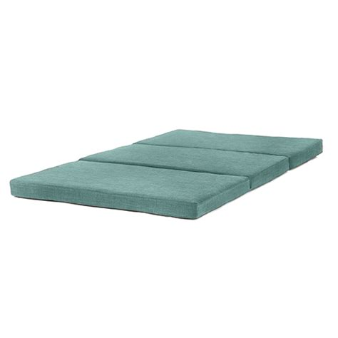folding foam futon fold out guest mattress foam bed single double sizes