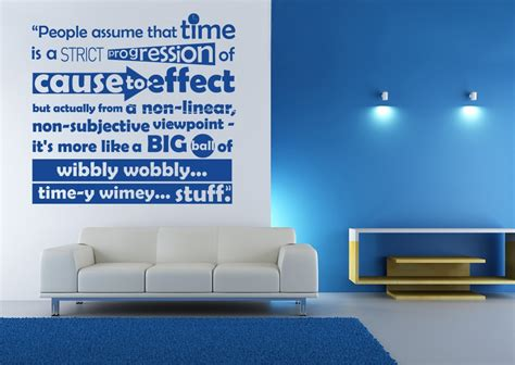 dr who wall stickers doctor who quotes about time quotesgram