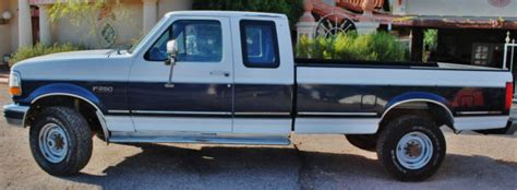 old car manuals online 1992 ford f250 parking system 1992 ford f 250 7 3l idi diesel 4x4 xlt f250 truck long bed super cab clean classic ford f 250