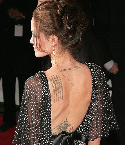 tattoo like angelina jolie first tattoo angelina jolie tattoos