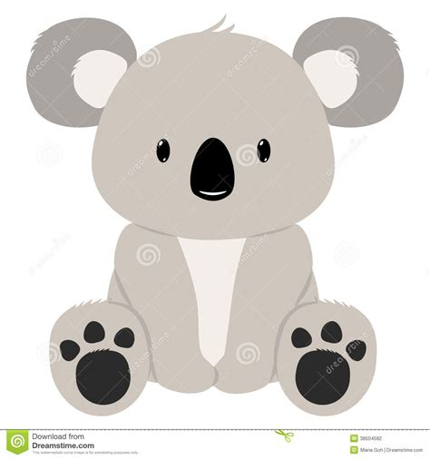 koala clip koala clipart easy pencil and in color koala clipart easy