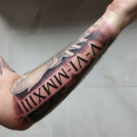 roman numeral tattoo ideas 101 cool and classic numerals designs