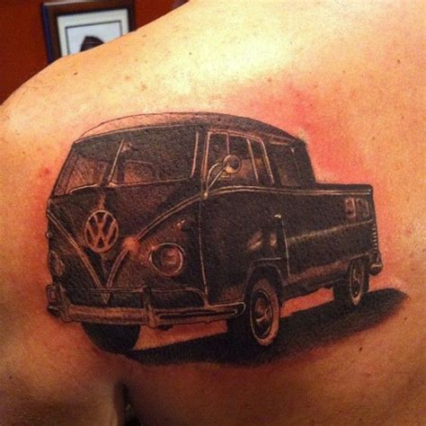 volkswagen bus tattoo 56 vw tattoos for people who love cars a bit too muc